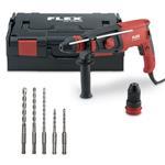 Flex Bohrhammer CHE 2-28 R SDS-Plus mit L-Boxx/ZB