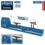 Scheppach Drechselbank DM1000T 400W 890-2600min-1 1000mm Drechselmaschine