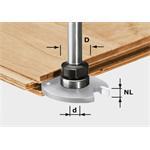 Festool Frässpindel für Scheibennutfräser HW S8 1,5-5 KL16 499803