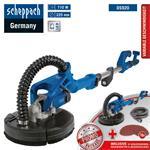 Scheppach Wand-Deckenschleifer DS920 Trockenbauschleifer Langhalsschleifer + Set