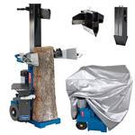 Scheppach Holzspalter HL1200, 400V+Abdeckhaube