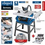 Scheppach Tischkreissäge HS105 + Sägeblattset