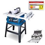Tischkreissäge HS105 Profi-Gerät 2000W,75mm, Untergestell, 2tlg. Sägeblatt