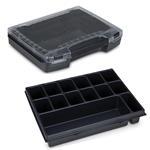 Sortimo Sortiments Kleinteile Koffer i-Boxx 72 schwarz mit 14 Fach Kleinteileinlage