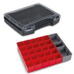 Sortimo Sortiments Kleinteile Koffer i-Boxx 72 schwarz mit Insetboxenset A3