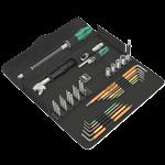 Wera Kraftform Kompakt F 1 Schraubwerkzeugsatz für Fensterbauer, 35-teilig