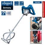 Scheppach Handrührwerk 1600W Handrührgerät Länge 55cm Mörtelrührer PM1600 Ø14cm