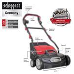 Scheppach Elektro-Vertikutierer SC36 / 36cm/1,5kW