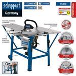Scheppach Tischkreissäge TS310 2800W, 400V, Sägeblatt- Ø315mm, Schnitthöhe 83mm