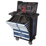 Scheppach TW1000 Premium Werkstattwagen gefüllt inkl. 263tlg. Werkzeugset