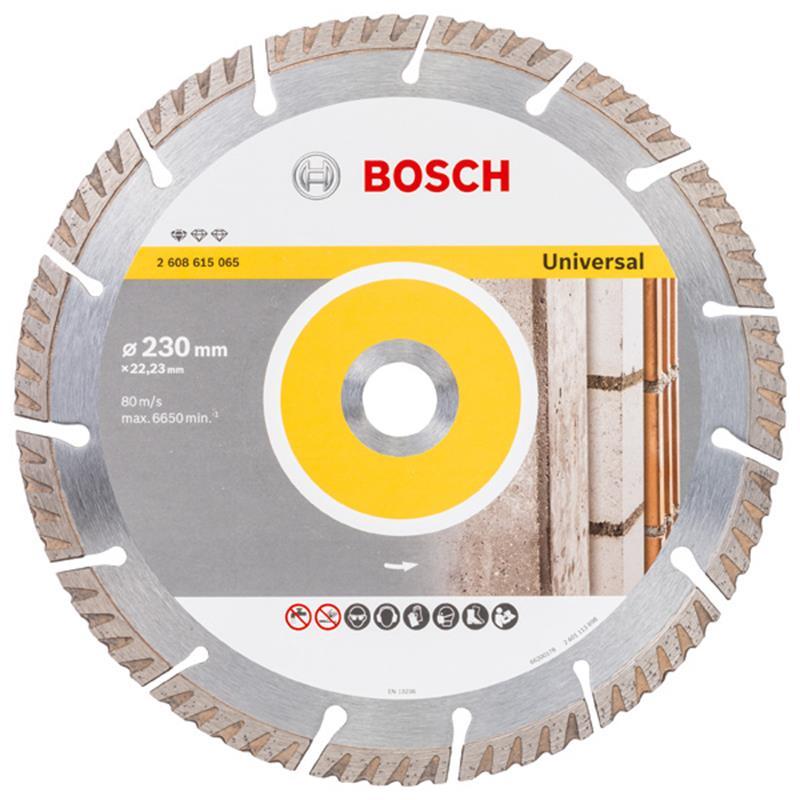 Trennscheiben Bosch Aktions-Set mit Tasche für den Bau 26 tlg Meißel Bohrer