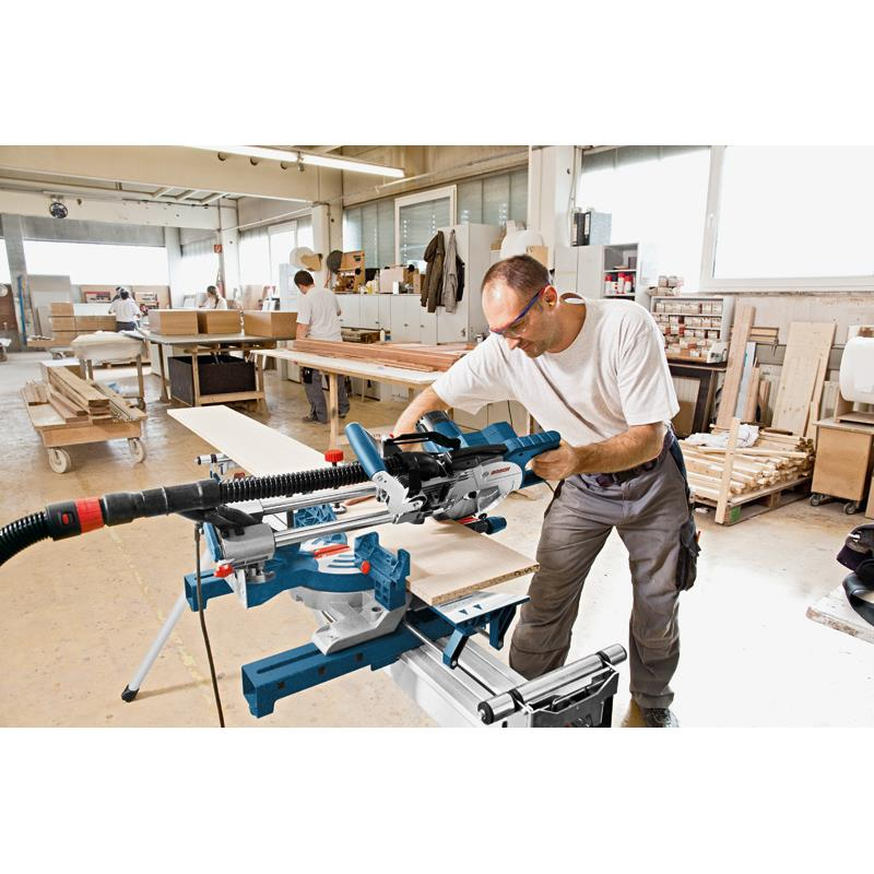 bosch mitre saw kapp and mitre saw gcm 8 sjl incl undercarriage gta 2600 ebay. Black Bedroom Furniture Sets. Home Design Ideas