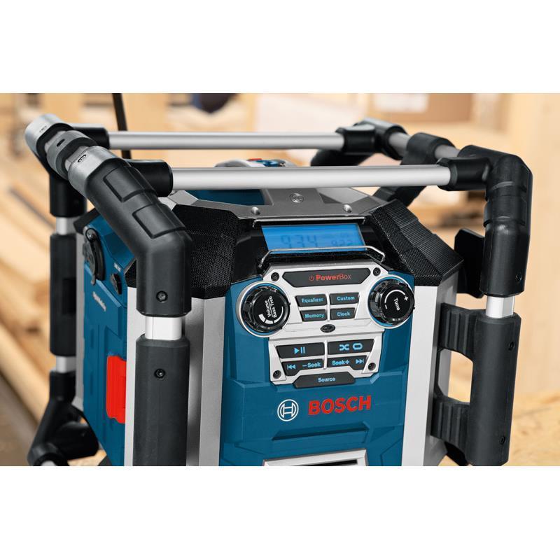 bosch autoradio chargeur alimentation radio chantier de construction gml 50 pour ebay. Black Bedroom Furniture Sets. Home Design Ideas