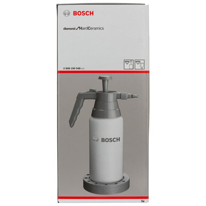 bosch wasserdruckflasche 0 9 ltr 2608190048 f r diamant bohrer ebay. Black Bedroom Furniture Sets. Home Design Ideas