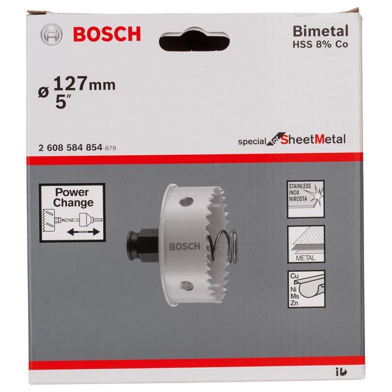 "Bosch Lochsäge Special Sheet Metal 5/"" 127 mm"