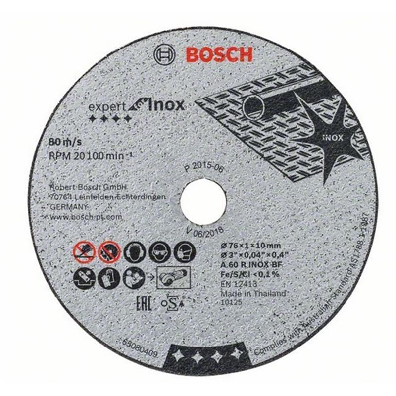 Bosch Trennscheibe Expert For Inox 76 Mm 5 Stuck Lefeld Werkzeug