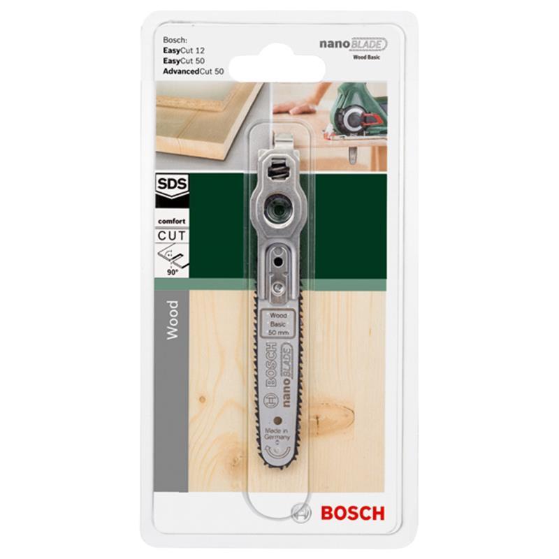 Bosch Sägeblatt Mikro-Kettensägeblatt nanoBLADE Wood Basic 50