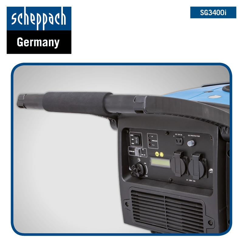 SCHEPPACH INVERTER STROMERZEUGER STROMAGGREGAT BENZINMOTOR GENERATOR SG3400i