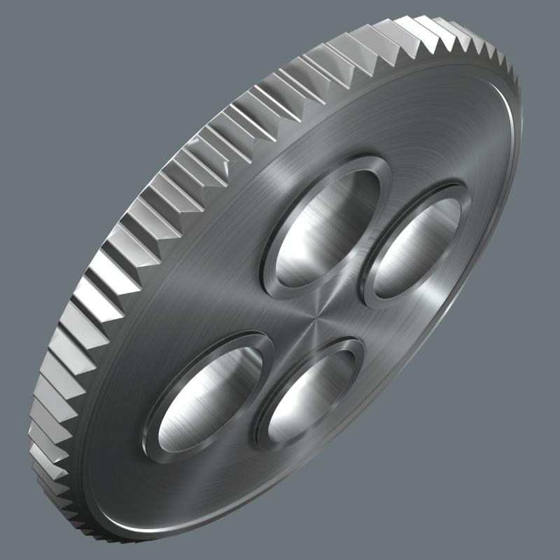 "Indexbild 9 - Wera 8008 A Zyklop Mini 3 1/4"" Knarre inkl. 3 Steckschlüsseleinsätzen 8 10 13 mm"