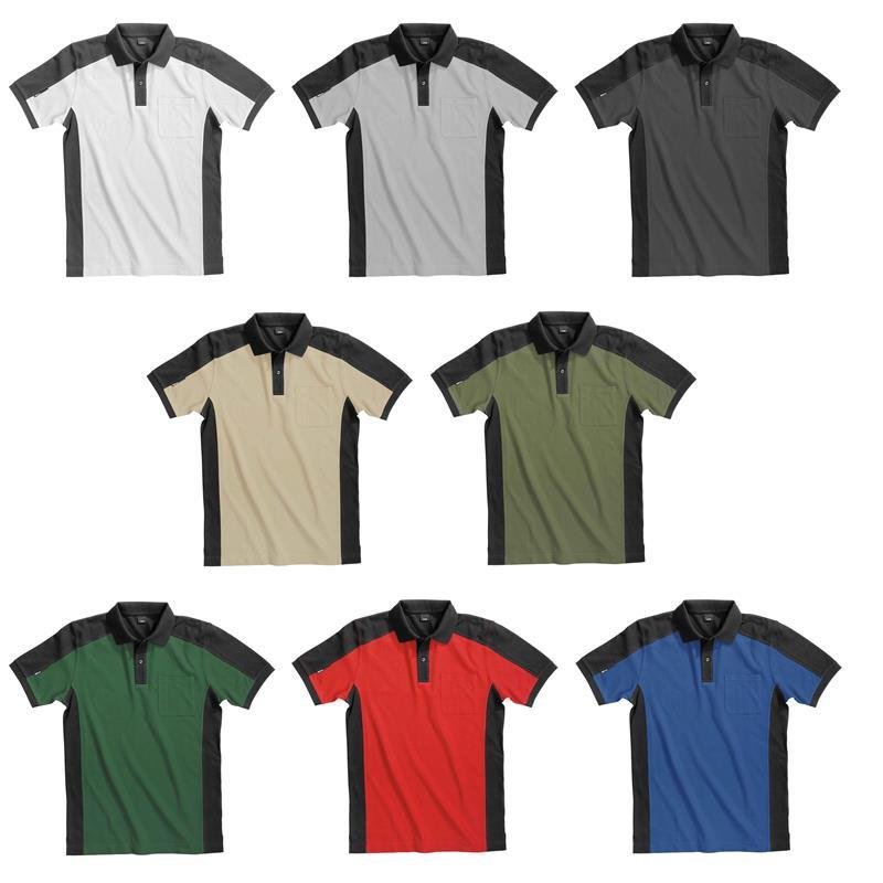 FHB Polo-Shirt  KONRAD 91490 1320-beige-schwarz