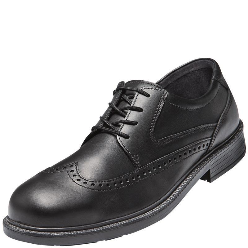 Btlas CX 320 S2 ESD Office Sicherheitsschuhe, schwarz, Leder