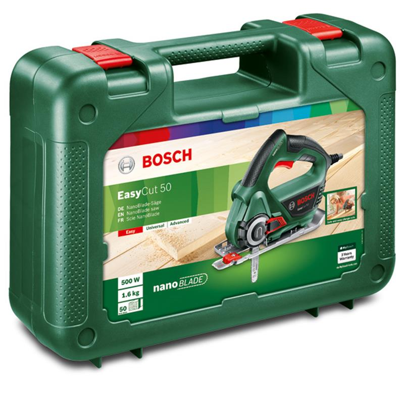 bosch nanoblade s ge easycut 50 inkl wood basic blade und koffer ebay. Black Bedroom Furniture Sets. Home Design Ideas