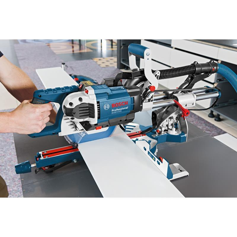 bosch kapp and mitre saw gcm 8 sde incl gta 2600 and 4 saw blades ebay. Black Bedroom Furniture Sets. Home Design Ideas