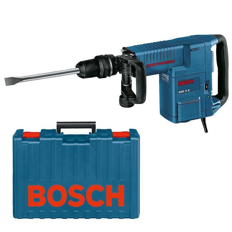 bosch schlaghammer gsh 11 e inkl koffer lefeld werkzeug. Black Bedroom Furniture Sets. Home Design Ideas