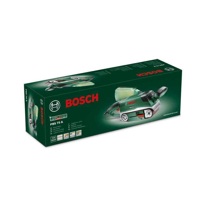 bosch pon euse bande pbs 75 a 06032a1000 75x533 mm 710 watt dans carton ebay. Black Bedroom Furniture Sets. Home Design Ideas
