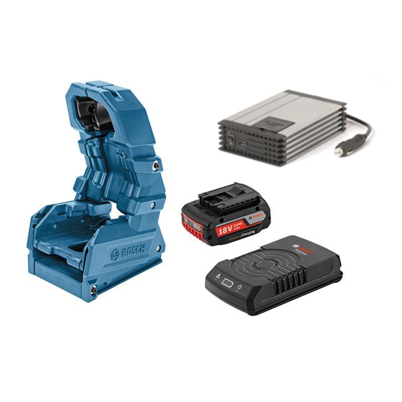 bosch wireless charging holster set inkl akku lefeld werkzeug. Black Bedroom Furniture Sets. Home Design Ideas