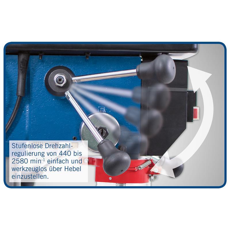 scheppach tischbohrmaschine dp18vario mit laser 550 w. Black Bedroom Furniture Sets. Home Design Ideas