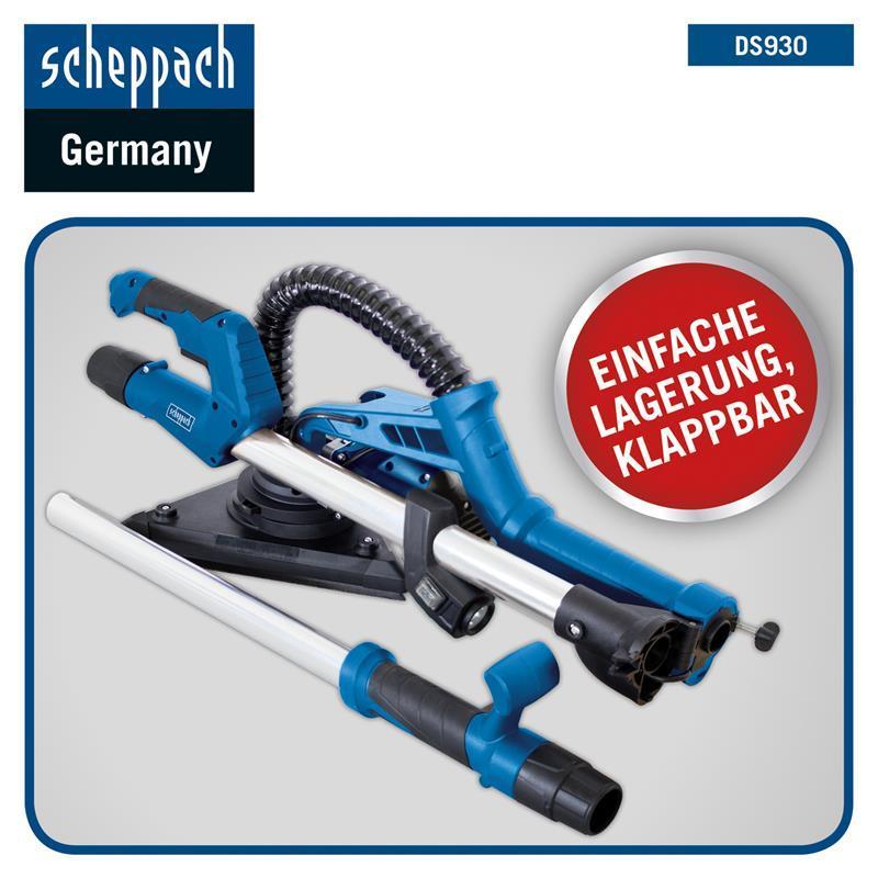DS930 DS200 10 Stück für DS210 DS920 Scheppach Schleifpapier-Set Rund K80