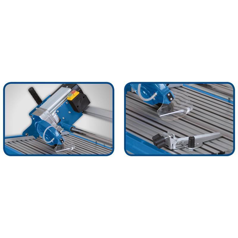 scheppach fliesenschneider fs850 schnittl nge 850 mm ebay. Black Bedroom Furniture Sets. Home Design Ideas