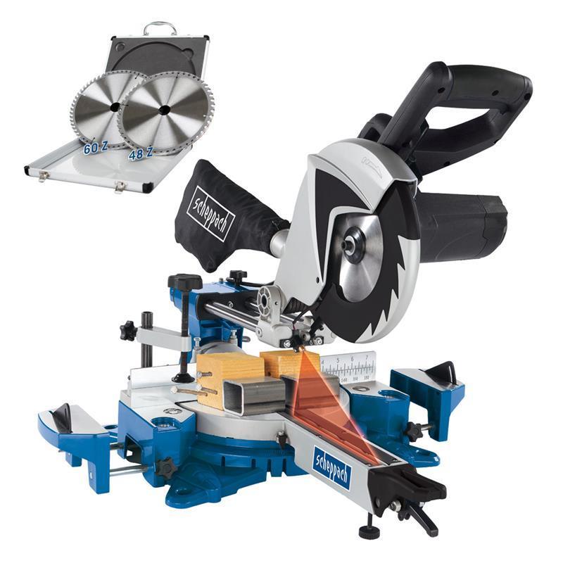 scheppach kapp zugs ge hm100mp laser duo speed set lefeld werkzeug. Black Bedroom Furniture Sets. Home Design Ideas