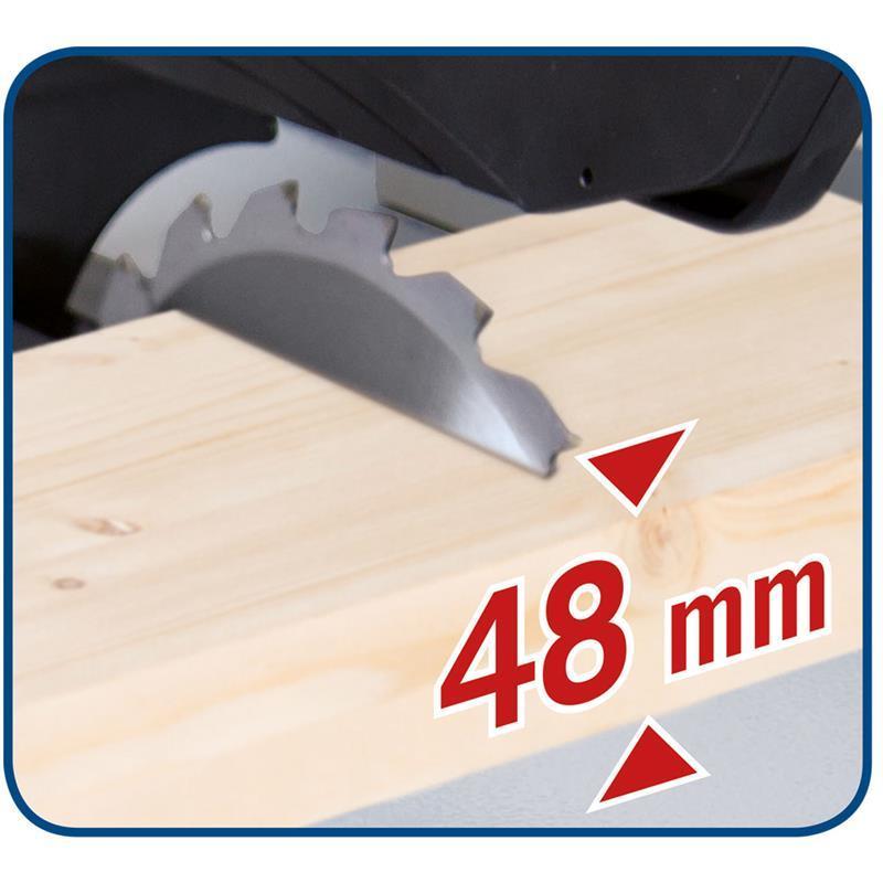 scheppach tischkreiss ge hs80 210mm 1200w 230v lefeld werkzeug. Black Bedroom Furniture Sets. Home Design Ideas