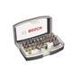 Bosch Bit Box 32-teiliges Schrauberbit-Set mit Farbcodierung 2607017319