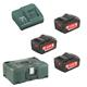 Metabo Akku Basic-Set Pick & Mix 3x18V/4Ah