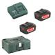 Metabo Akku Basic-Set Pick & Mix 2x18V/4Ah