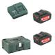 Metabo Akku Basic-Set Pick & Mix 2x5,2Ah
