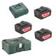 Metabo Akku Basic-Set Pick & Mix 3x18V/5,2 Ah