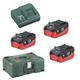 Metabo Akku Basic-Set Pick & Mix 3x18 V/5,5 Ah