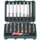 """Metabo Bit-Box """"SP"""" 56-teilig bestehend aus: S 2-Bits S2-Qualität Farbcodierung"""