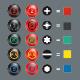 Wera Kraftform XXL 12-teiliges Schraubendreher Set mit 2 Halte-Racks
