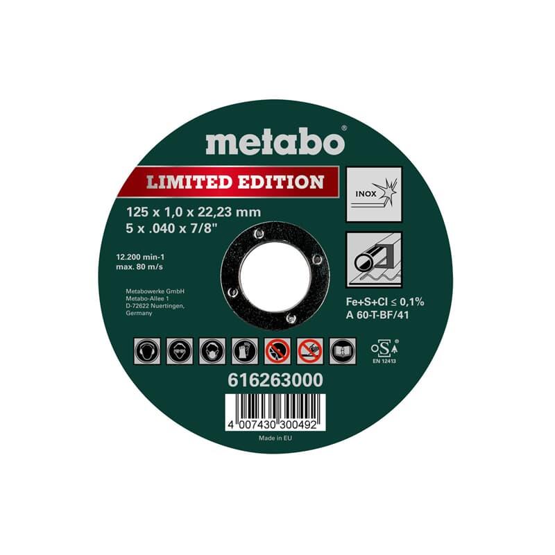 Metabo Winkelschleifer WEQ 1400-125 im Karton 600347000