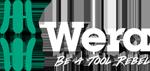 Wera Logo mit Tool Rebel CLaim