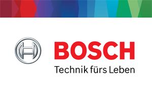 Dies ist das Robert Bosch GmbH Logo.