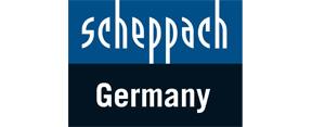 Dies ist das Scheppach Logo.