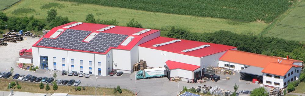 Luftbild der as - Schwabe GmbH