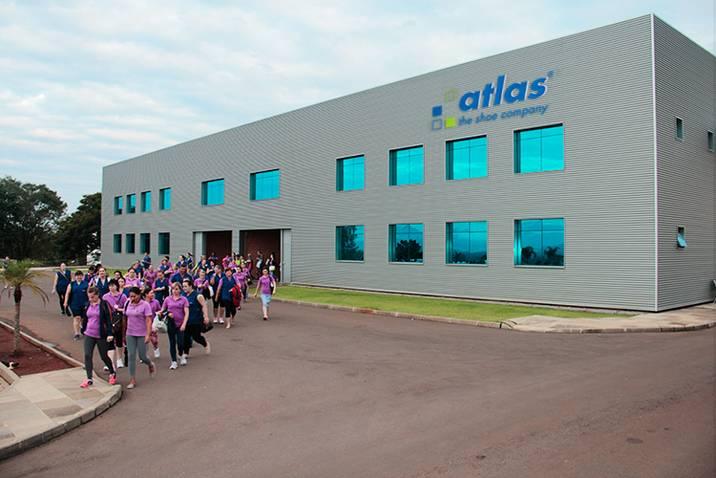 Atlas Brasilien Firmengebäudefront