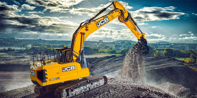 Die JCB Bauwirtschaft.